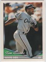 1994 Topps Baseball Chicago White Sox Team Set