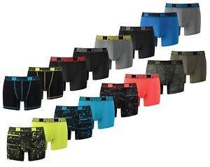 2, 4er Pack Puma Men Active Sport Boxer Boxershorts Unterhose Trunk 671018001