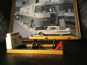 1960 Matchbox Lesney 27 Cadillac Sixty Special - Crimson Base, Repainted top