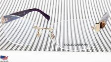 NEW D&G Dolce & Gabbana DG 1241 1208 Pale Gold Eyeglasses 56-15-135 B40mm Italy