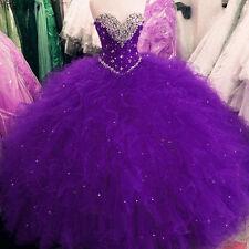 bcb7706f285 Women Sweetheart Quinceanera Dress Beaded Ruffles Ball Gown Prom Dress  Custom