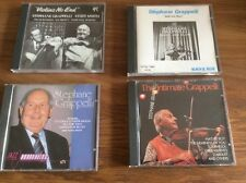 4 x Stephane Grappelli CDs Please see pictures for track listings and details