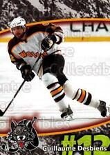 2007-08 Chicago Wolves #3 Guillaume Desbiens
