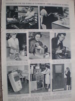 Photo article Ideal Home Exhibition Olympia London 1947