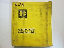 Caterpillar Track Type Loader 11K 48J 70J Service Shop Repair Manual CAT x OEM