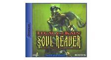 # sega Dreamcast Jeu-Legacy of Kain: soul reaver (avec emballage d'origine) - top #