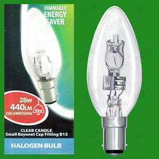 Unbranded Halogen Light Bulbs Candle