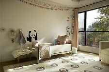 Cute Walking Panda   vinyl wall decal