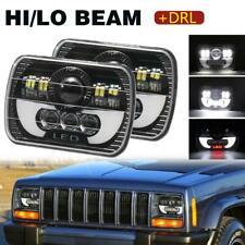 """5X7"""" 7x6"""" Rectangle LED Headlight for Ford F250 F350 F450 F550 Super Duty 2Pcs"""
