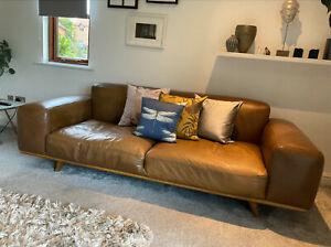 Made.com Otto Leather Sofa