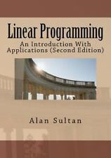 Linear Programming. 2nd edition. Sultan