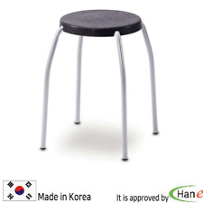 Plastic Multi Chair Stool Seat Spa Salon Restaurant Bar Kitchen Lightweight Safe