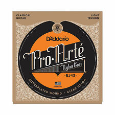 D'ADDARIO EJ43  NYLON CORE 27.5-42 CLASSICAL ACOUSTIC GUITAR STRINGS 2 PACK