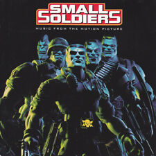 """(108) """"Small Soldiers""""-Film Soundtrack CD 1998-The Cult/Rush/Benatar/Queen-New"""