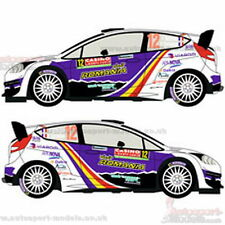 1/24 2014 Ford Fiesta WRC #12 Monte Carlo Rally decal set by Racing Decals ~ 015