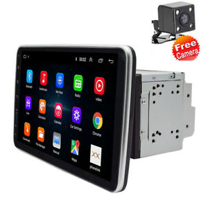 "10.1"" Double 2Din Android 9.1 Car Stereo MP5 Player GPS Navi WIFI &Rear Camera"