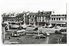 Yorkshire Thirsk Market Place Real Photo Vintage Postcard 21.9