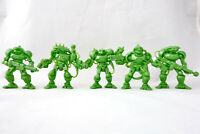 Battle Aliens Warriors 5 Sci-Fi Figures 54mm Plastic Toy Soldiers Tehnolog New