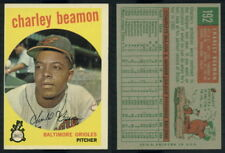 (53243) 1959 Topps 192 Charley Beamon Orioles-NM