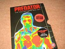 "Predator 1 + 2 Collectors Limited Edition Box Set + 2 Predator 10cm/4"" PVC Figrs"