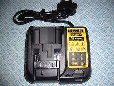 Dewalt DCB107 battery charger  for 10.8V, 14.4V or18v Li-Ion slide on batteries.