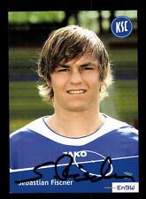Sebastian Fischer Autogrammkarte Karlsruher SC II 2006-07 Original Sign+A 142620
