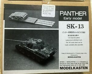 ModelKasten 1/35 Scale Panther Early Track Set. (workable)