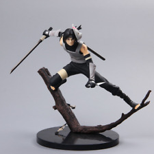 21cm Anime Naruto Shippuden Uchiha Itachi PVC  Figurine Battle Jouets Statues
