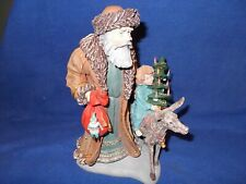 "History of Santa Ii figurine, 10 1/2"" - Bavarian - by Duncan Royale, dated 1985"