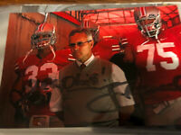 JIM TRESSEL Signed 4x6  Photo Ohio State Auto Inscribed Yea Ohio