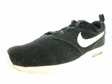 best authentic 6dfe2 39cfd Nike Air Max Tavas Mens 802611-001 Black White Leather Running Shoes Size  13M