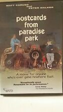 POSTCARDS FROM PARADISE PARK  DVD 2003 Curt Crane US indie film Lone Coyote MINT