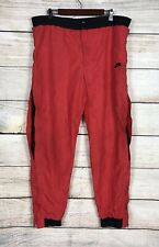 Vintage Red Nike Flight Windbreak Michael Jordan Pants