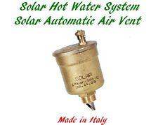 Solar Hot Water Automatic Air Vent WATTS MV-SOL