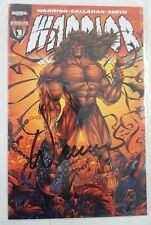 WARRIOR #1 Ultimate WWF WWE Ashcan Variant Cover James Hellwig Autograph HTF RIP