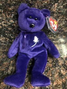 TY Beanie Babies Princess Bear 1997 VERY RARE!