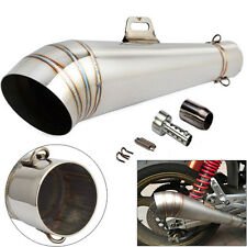 AU 38-51mm Slip-On GP Exhaust Muffler Pipe & DB Killer for 125-1000CC Motorcycle