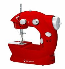 NEW Smartek RX 08 Mini Sewing Machine with Pedal Red FREE SHIPPING