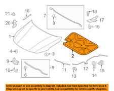 KIA OEM 11-15 Optima Hood-Insulation Pad Liner Heat Shield 811252T000