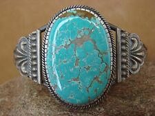 SALE Native American Jewelry Sterling Silver Turquoise Bracelet Navajo