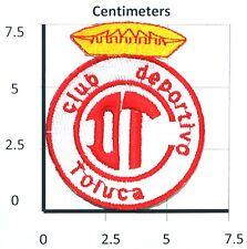 DEPORTIVO TOLUCA MEXICO FUTBOL CLUB DIABLOS ROJOS LIGA MX PATCH
