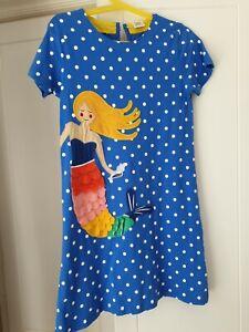 Girls Cotton Mermaid Dress