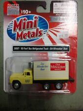 1/87  H0 Classic Metal Works 30507 - '60 Ford Reefer Box Truck, Old Milw Beer