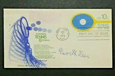 Elsworth Vines Tennis Legend Signed First Day Cover