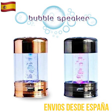 Altavoz MINI BUBBLE Luces Led Burbujas USB AUX MICRO SD SÚPER PRECIO!!!