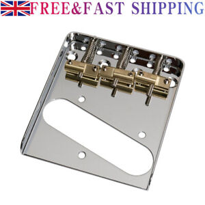 Replacement Vintage Guitars Bridge For Telecaster with Compensated Saddles New