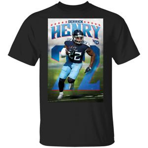 Tennessee Titans Derrick Henry #22 T-Shirt Men's Tee Shirt S-5XL