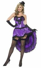 SMIFFY'S 43884 LADIES BURLESQUE GLAMOUR FANCY DRESS SIZE LARGE 16 - 18