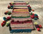 Hand Woven Made Afghan Khurjeen Saddle Bag Wall Hanging Area Rug 3.2 x 1.2 Ft