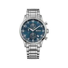 Mens Hugo Boss Aeroliner Chronograph Blue Watch HB1513183